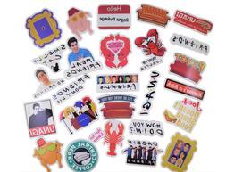 100 pcs Friends Tv Show Sticker Pack Waterproof Vinyl sticke