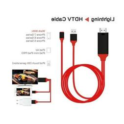 1080p lightning 8pin to tv hdmi av