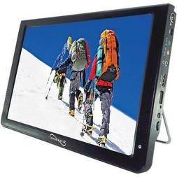 "Supersonic 12"" Portable Lcd Tv, Ac And Dc Compatible With Rv"