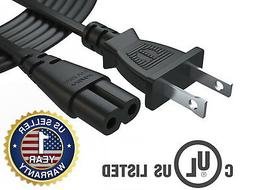 Pwr+ TV Power Cord 12 Ft Cable for Samsung LG TCL Sony 2 Pro