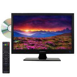"TREXONIC 15.6"" INCH 12V  HD LED PORTABLE TV DVD PLAYER COMBO"