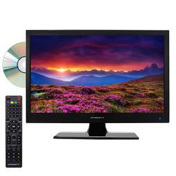 """15.6"""" INCH HD LED TV 12V VOLT PORTABLE CAR CORD KIT DC/AC TV"""