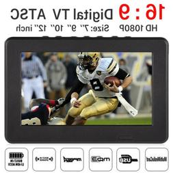 12 Inch 16:9 Widescreen 12V Car Television Digital TV HDMI A
