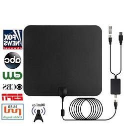 2018 Newest HDTV Air Antenna for Digital TV Indoor 80 Miles