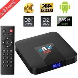 Bqeel 2018 X8T MAX Android 7.1  TV Box 2.4G WIFI Quad-core A