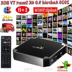 2020 X96MINI 4K Android 9.0 OS TV BOX 2.4G WIFI HDMI2.0 3D U