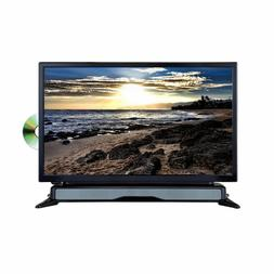 """Axess 24"""" Widescreen HD LED TV DVD Combo with Sound Bar USB"""