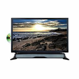 "Axess 24""  Widescreen HDTV LED Television DVD Combo W SoundB"