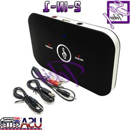 2in1 Bluetooth Transmitter & Receiver Wireless A2DP Home TV