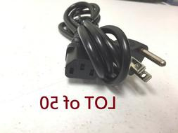 3 prong power cord cable for desktop
