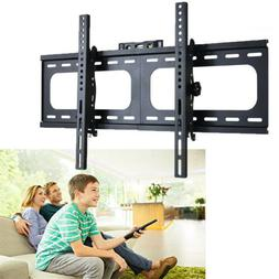 "32-75"" inch LCD LED Plasma TV XL Large Slim Tilt Wall Mount"