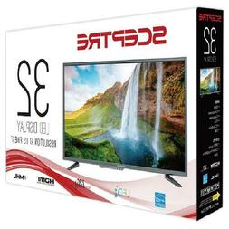"Sceptre 32"" Class 720P HD LED TV X322BV-SR Home Television N"