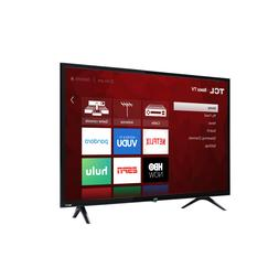 32 inch 720p LED Smart TV hands free voice search Roku Alexa