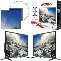 32 Inch Flat Screen Class 720P HD LED TV with Builtin DVD Pl