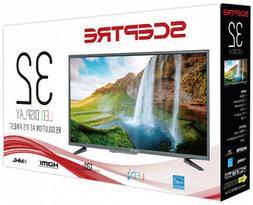 32 Inch HD LED TV Flat Screen Wall Mountable HDMI USB Monito