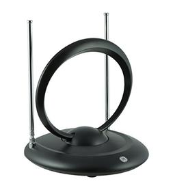 GE Traditional Rabbit Ears Indoor TV Antenna, Dipoles and Ci
