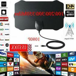 350 Mile Range Antenna TV Digital HD Skywire Antena Digital