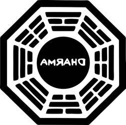 "4"" Dharma Initiative Lost High Quality Decal Sticker Trailer"