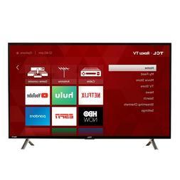 """TCL 40"""" 1080p 120Hz CMI Roku Smart LED TV - Black"""