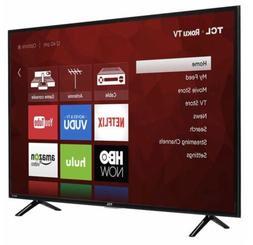 """TCL 43"""" Class  4K Ultra HD Roku LED LCD TV"""