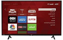 TCL 43S303 43in LED 1080P 120HZ WiFi Roku TV