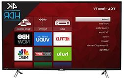 TCL 43S405 43-Inch 4K UHD Smart LED Roku TV