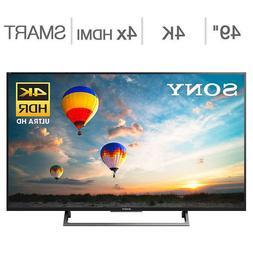 "Sony 49"" Inch Class  HDR 4K Ultra LED LCD TV XBR49X800E FREE"