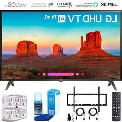 "LG 49UK6300 49"" UK6300 Smart 4K UHD TV  w/ Wall Mounting + C"