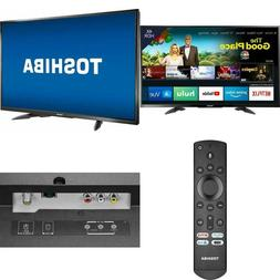 TOSHIBA 4K Ultra HD Smart LED TV HDR - Fire TV Edition with