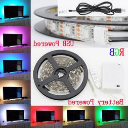 50-200CM 5050 LED USB Strip Light TV Back RGB Color Change B