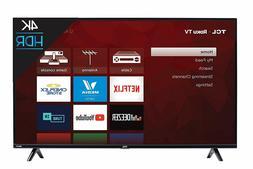 TCL 50  inch 4K Smart LED Roku TV