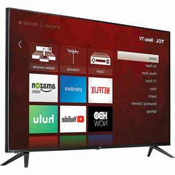 TCL 55 inch 4k Roku TV Television Flat 4 Series with Remote