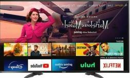 Toshiba 55 inch 4K Smart Internet Black FireTV Edition light