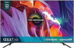 Hisense Quantum 55-Inch Android 4K UHD ULED Smart TV - 4 HDM
