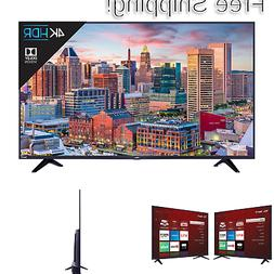 TCL 55S517 55-Inch 4K Ultra HD Roku Smart LED TV  TV only