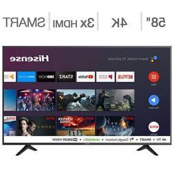 "Hisense 58"" Class  4K Ultra HD LED LCD TV, NEW!"