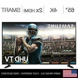 "SAMSUNG 65"" Class 4K 2160p Ultra HD UHD Dimming Smart LED TV"