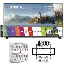 "LG 65UJ6300 - 65"" Super UHD 4K HDR Smart LED TV  w/ Wall Mou"