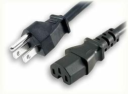 6ft 3 prong ac power cord