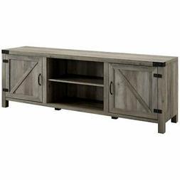 "Walker Edison Furniture Company 70"" Farmhouse Barn Door TV S"