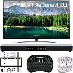 "LG 75SM8670 75"" 4K HDR Smart LED IPS TV w/ AI ThinQ 2019 Mod"