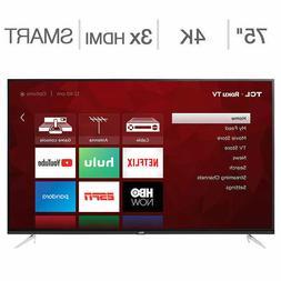"TCL 75"" Class  4K UHD LED LCD TV"