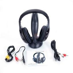 8 in 1 Wireless Headphones Stereo Headset For FM Radio Mp3 P