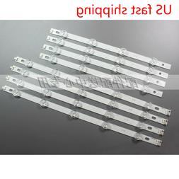 "8pcs LED Strip for LG 39"" TV LG 39LN5100 INN0TEK POLA2.0 39"