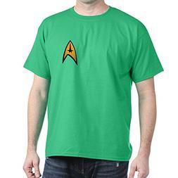 CafePress Star Trek Classic Insignia - 100% Cotton T-Shirt