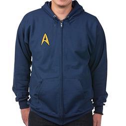 CafePress Star Trek Insignia - Zip Hoodie, Classic Hooded Sw