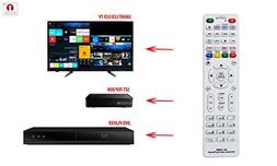 Cezo Universal Learning 3 in 1 Led/LCD Smart Tv Remote with