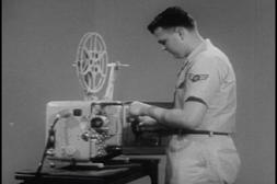 Classic 16mm Movie Projector Films DVD: Vintage 16mm Film Re