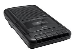 Coby Portable Shoe-box Stereo Cassette Voice Recorder Player