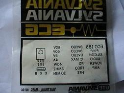 Ecg 185 Silicon Audio Power Amp Transistor Television Replac